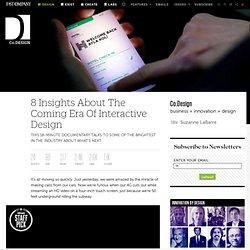 Interactive Design Era