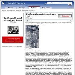 Pacifisme allemand des origines à 1945 par e-mail : Malgré les requêtes insistantes de membres d'associations pacifistes, les