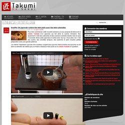 Insolite : un Japonais cuisine des mini plats avec des mini ustensiles
