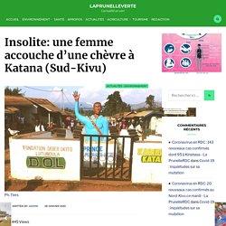 Insolite: une femme accouche d'une chèvre à Katana (Sud-Kivu)