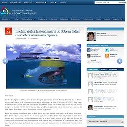 Insolite, visitez les fonds marin de l'Océan Indien en scooters sous-marin biplaces