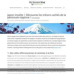 Japon Insolite : Sortez des Sentiers Battus ! - by heven.com