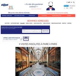 9 visites insolites à faire à Paris