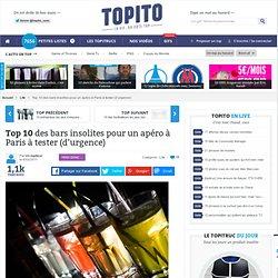 Top 10 des bars insolites à Paris