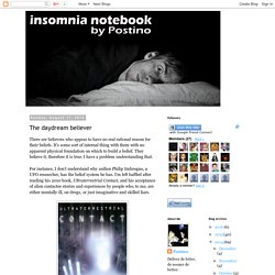 Insomnia Notebook: The daydream believer