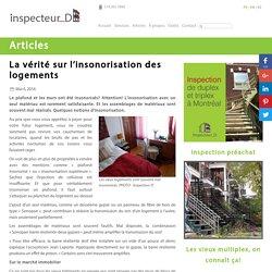 La vérité sur l'insonorisation des logements - INSPECTEUR D