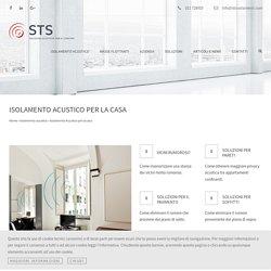 Insonorizzazione Appartamenti e Isolamento Acustico per Casa