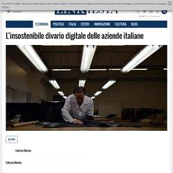 L'insostenibile divario digitale delle aziende italiane