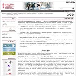 Inspección de Educación - Generalitat Valenciana