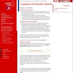 Inspecteurs de l'éducation nationale