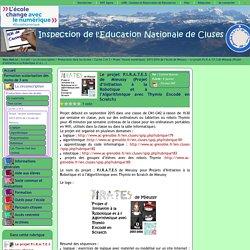 Inspection de l'Education Nationale de Cluses - Le projet P.I.R.A.T.E.S de Mieussy (Projet d'Initiation à la Robotique et à l'Algorithmique avec Thymio Encodé en Scratch)