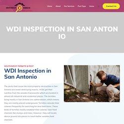 WDI Inspection in San Antonio