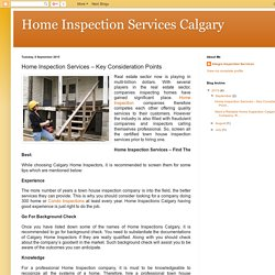 Industry's best rated Calgary home inspectors are Integra-inspections.com