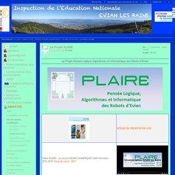 Inspection de l'Education Nationale - EVIAN les Bains - 74 - Le Projet PLAIRE