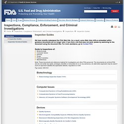 FDA 30/04/09 Low Acid Canned Food Manufacturers Part 1 - Adminstrative Procedures/Scheduled Processes