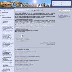 Inspection de Bourgoin Jallieu 3 [Prendre en compte l'hétérogénéité] :..