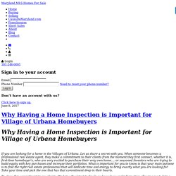 Why Having a Home Inspection is Important for Village of Urbana Homebuyers