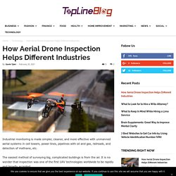 How Aerial Drone Inspection Helps Different Industries