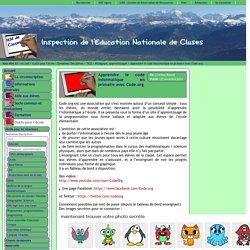 Inspection de l'Education Nationale de Cluses - Apprendre le code informatique en primaire avec Code.org