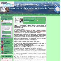 Inspection de l'Education Nationale de Cluses - Séances avec Scratch : exemples de programmes imposés