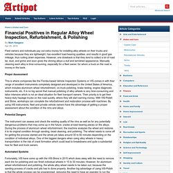 Financial Positives in Regular Alloy Wheel Inspection, Refurbishment, & Polishing