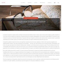 L'inspection scolaire en Suède – CFCPE