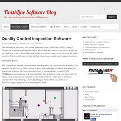 Quality Control Inspection Software