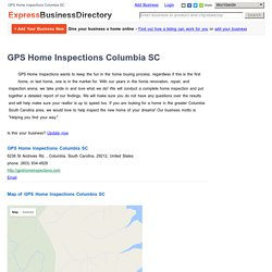 GPS Home Inspections Columbia SC, 6236 St Andrews Rd, , Columbia, South Carolina, 29212, United States