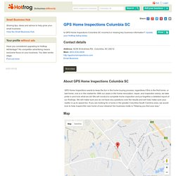 GPS Home Inspections Columbia SC, Columbia SC - home inspection Columbia SC