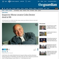 Inspector Morse creator Colin Dexter dead at 86