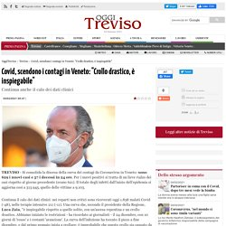 """Covid, scendono i contagi in Veneto: """"Crollo drastico, è inspiegabile"""""""
