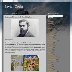 Javier Coria: La inspiración secreta de Gaudí (Sàpiens)