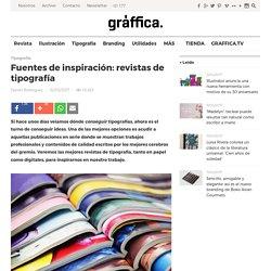 Fuentes de inspiración tipográfica: revistas de tipografía