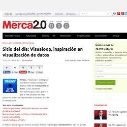 Sitio del día: Visualoop, inspiración en visualización de datos