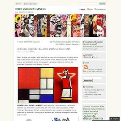 35 roupas inspiradas nas artes plásticas: moda/arte « FreakShowBusiness