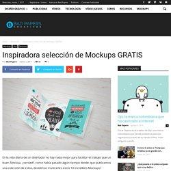 Inspiradora selección de Mockups GRATIS
