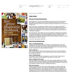 Inspiratiedoeboek > Lees meer - inspiratiepost.nl