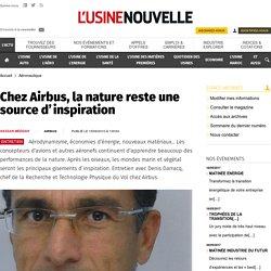 Chez Airbus, la nature reste une source d'inspiration - Aéronautique