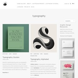 """Graphic Design Inspiration & Architecture Blog Tagged """"typography"""" - Cuba Gallery"""