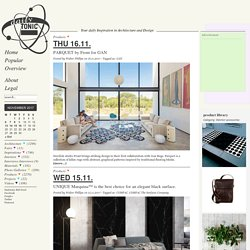 Dailytonic - Your daily Inspiration in Architecture and Design
