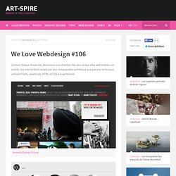We Love Webdesign #106