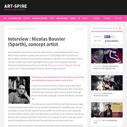 Interview : Nicolas Bouvier (Sparth), concept artist