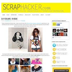 DIY Sequin Collar - Inspiration & Links to 10 Awesome DIY Tutorials