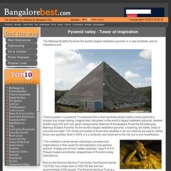 Pyramid valley -Tower of Inspiration - www.bangalorebest.com