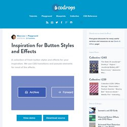 CSS + HTML - Button Styles and Effects