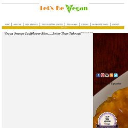 Let's Be Vegan - Easy Vegan Recipes, Tips and Inspiration