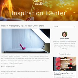 Inspiration Center - Weebly.com