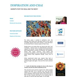 Inspiration and Chai