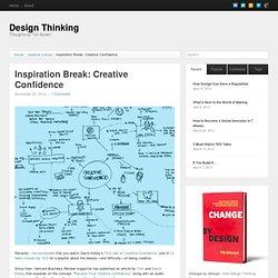 Inspiration Break: Creative Confidence