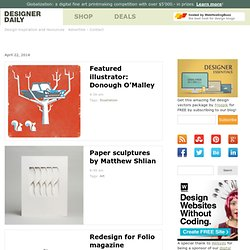 Inspiration - Design daily news